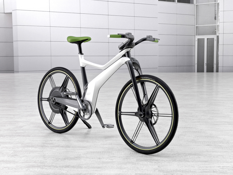 Foto Delantera Smart E Bike Bicicleta 2010