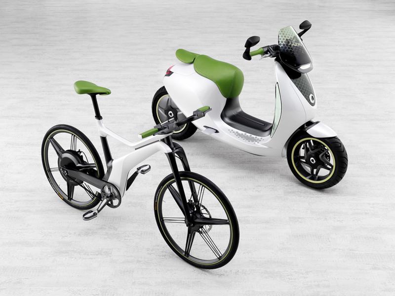 Foto Lateral Smart E Bike Bicicleta 2010