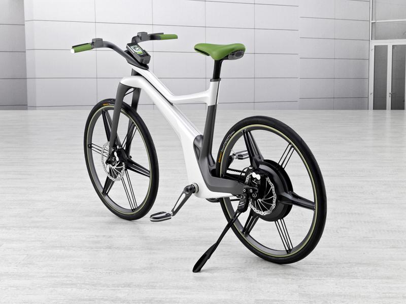 Foto Trasera Smart E Bike Bicicleta 2010