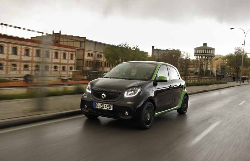 Smart Electricdrive puente matadero