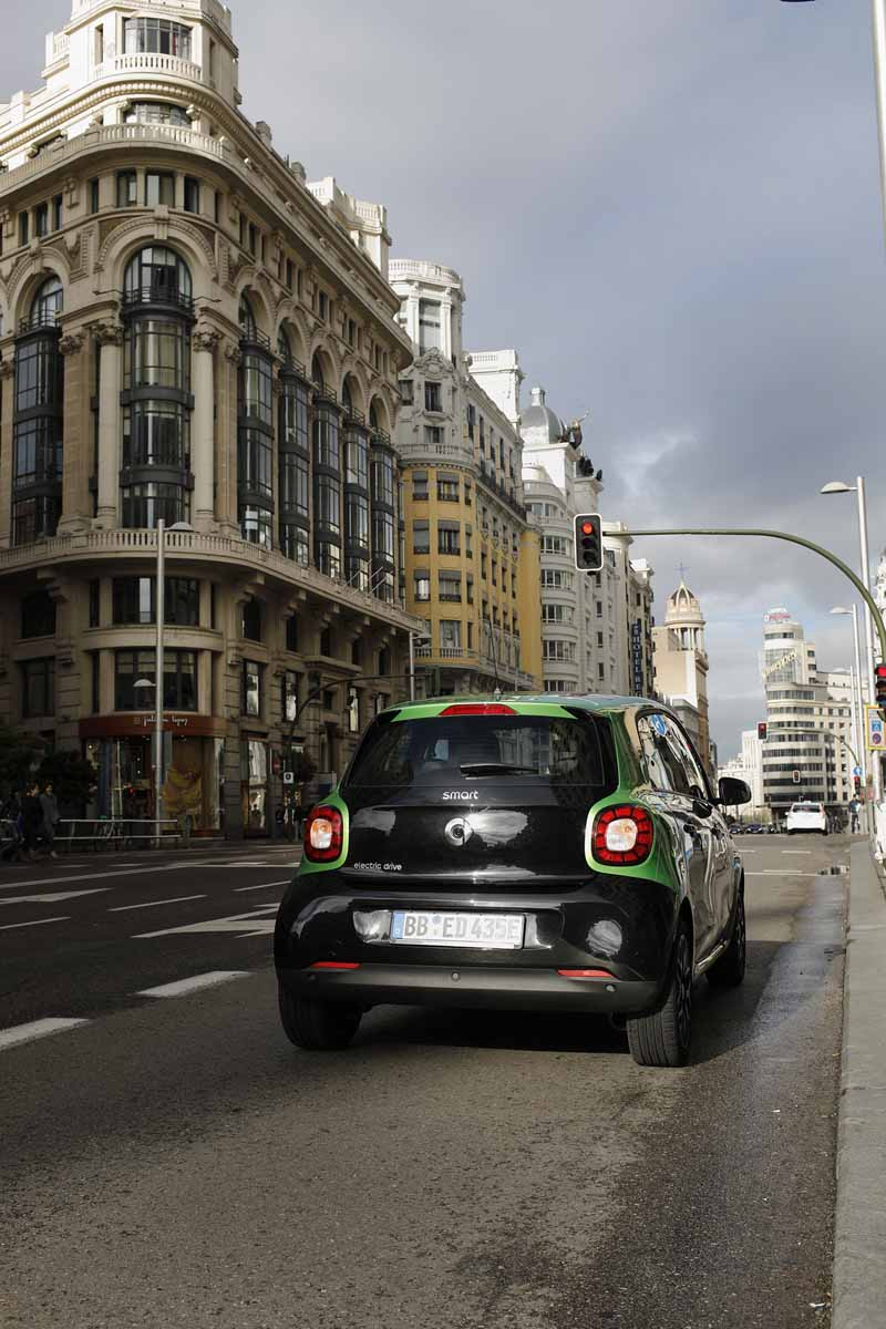 Smart Electricdrive centro Madrid