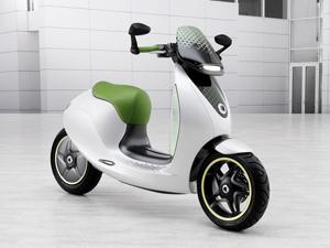 Smart escooter en el Salón de París 2010