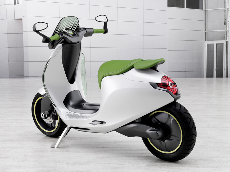 Foto Trasera Smart Escooter Scooter 2010