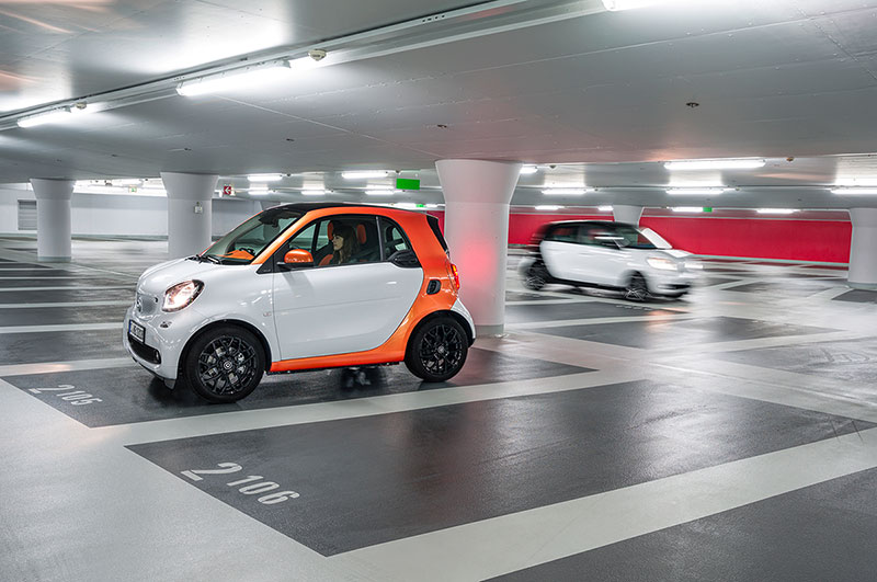 Smart Forfour y Fortwo