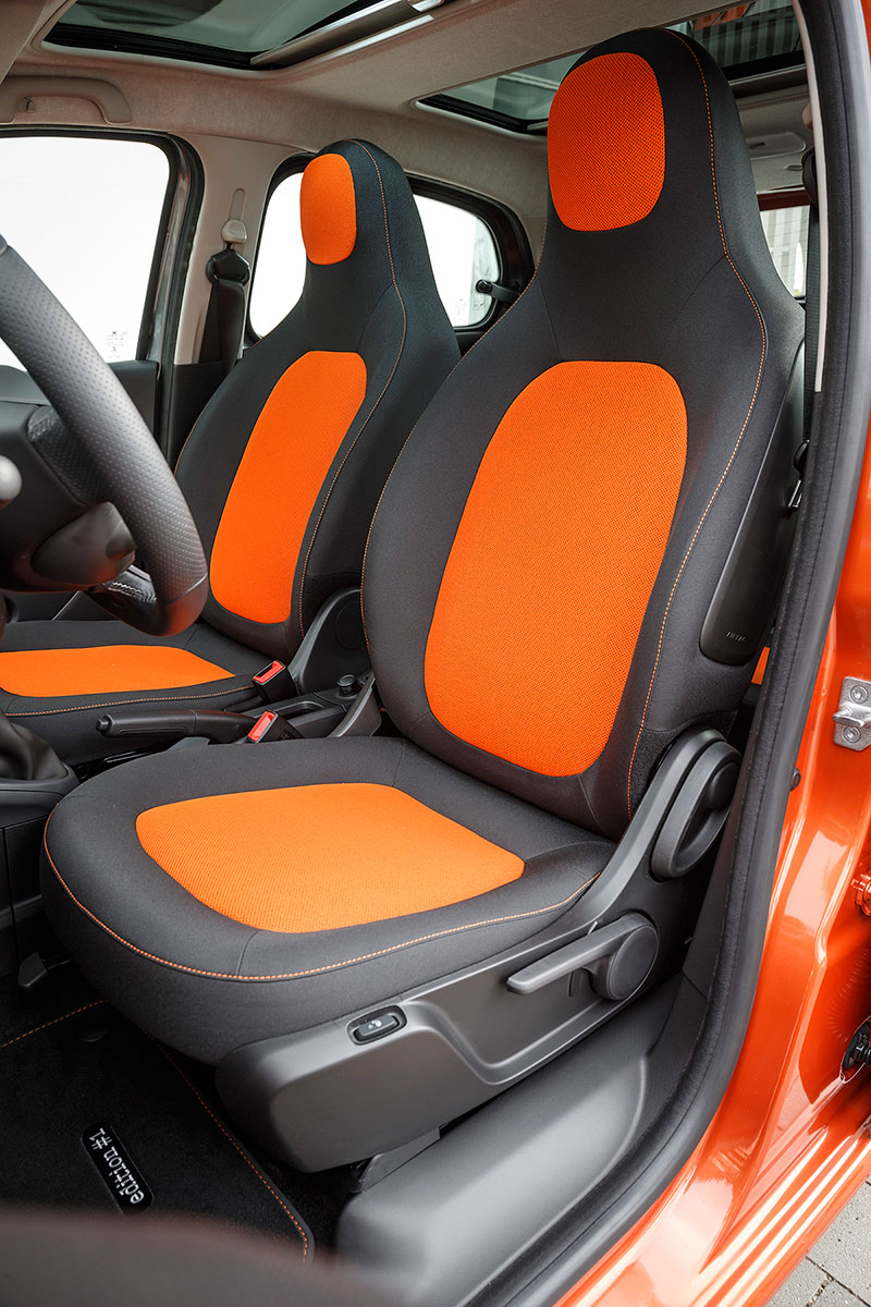 Foto Interiores Smart Forfour Dos Volumenes 2014
