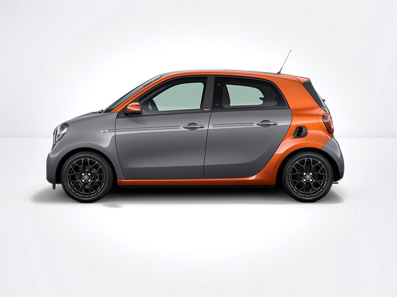 Foto Perfil Smart Forfour Dos Volumenes 2014