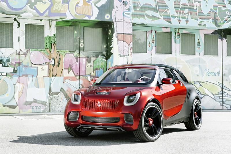 Smart forstars en el Salón del Automóvil de París 2012