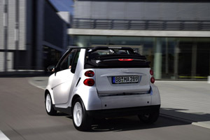 Foto Trasero Smart Fortwo Descapotable 2004