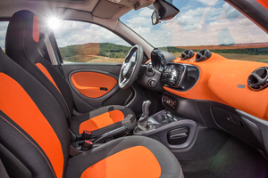 galeria de fotos smart fortwo 2014 - interiores