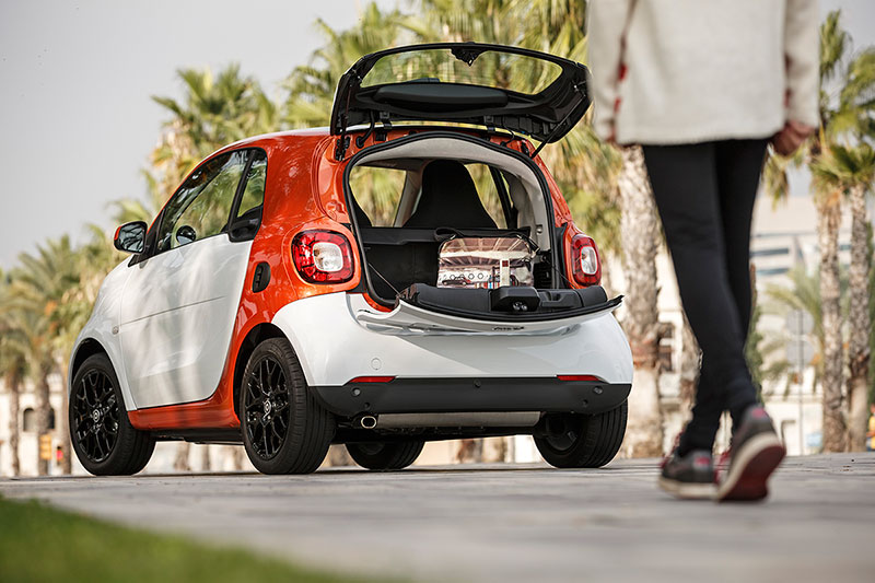 Smart Fortwo trasera