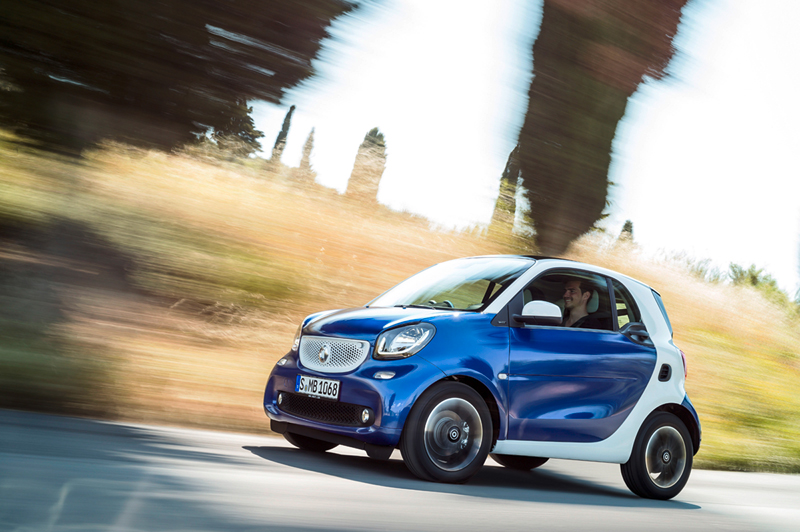 Smart fortwo y forfour 2014