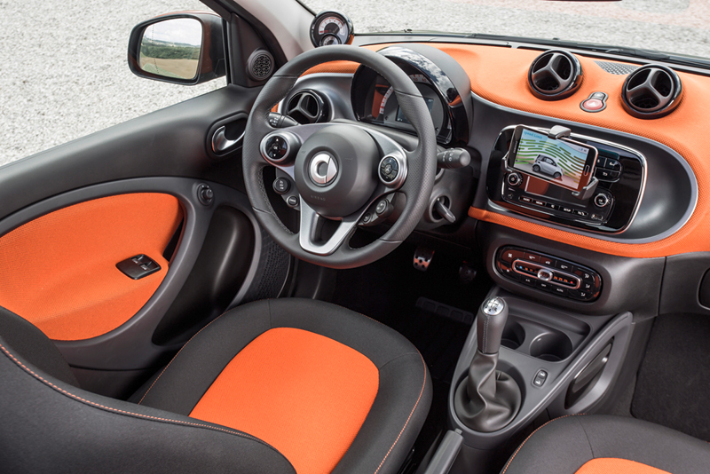 Foto Interiores Smart Fortwo Dos Volumenes 2014