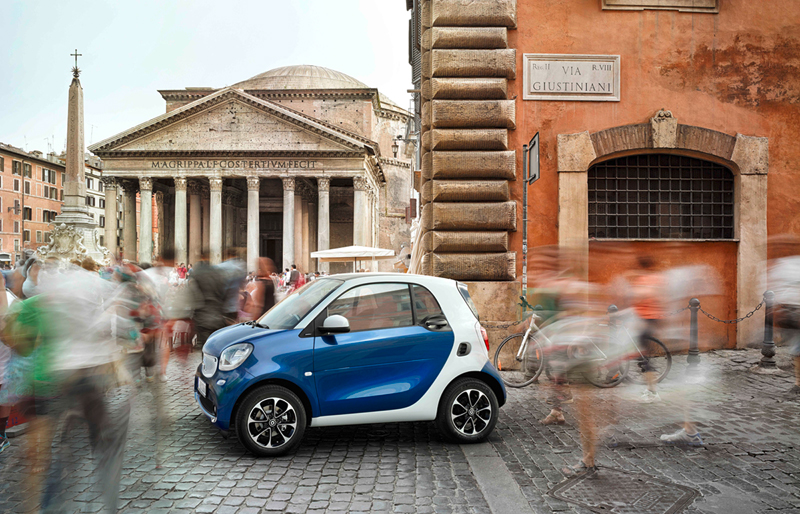 Foto Lateral Smart Fortwo Dos Volumenes 2014