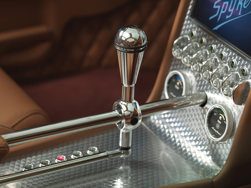 Foto Detalles Spyker B6 Venator Cupe 2013