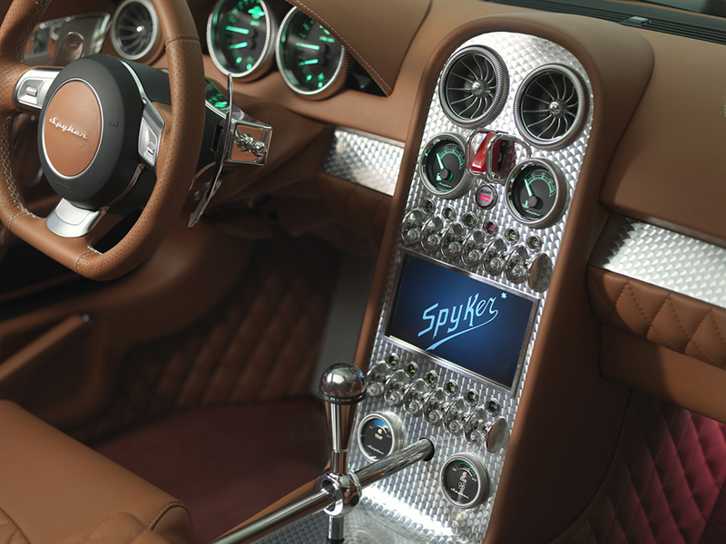 Foto Interiores Spyker B6 Venator Cupe 2013