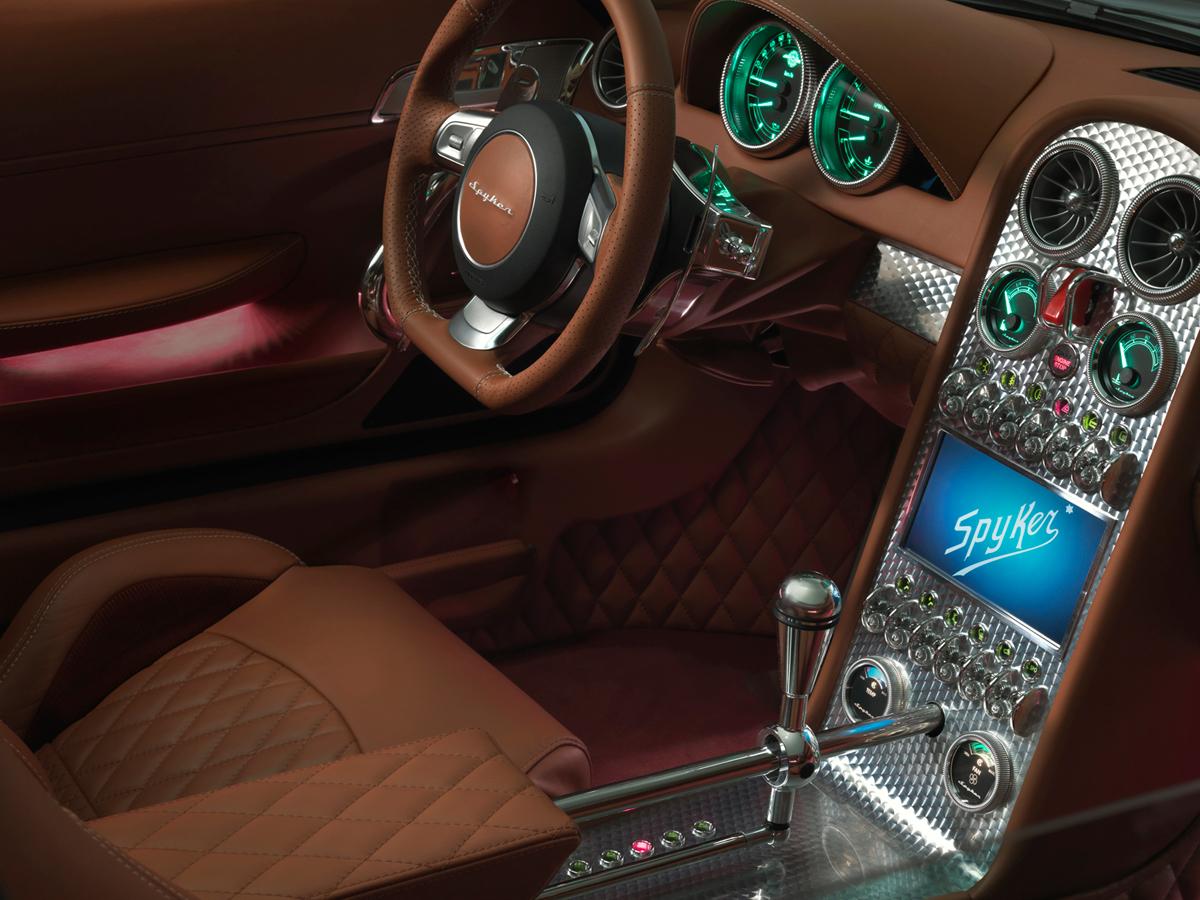 Fondo Pantalla Spyker B6-venator-spyder-concept Descapotable 2013 Interiores (1)