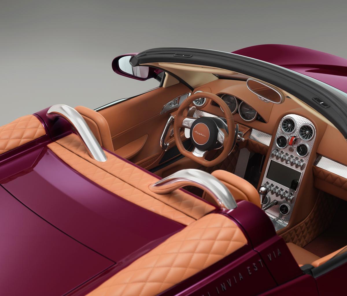 Fondo Pantalla Spyker B6-venator-spyder-concept Descapotable 2013 Interiores (5)