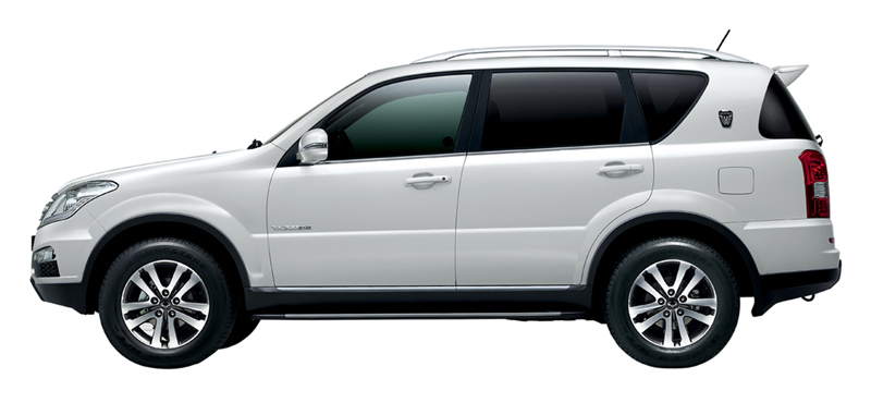 Foto Lateral Ssangyong Rexton W Suv Todocamino 2012
