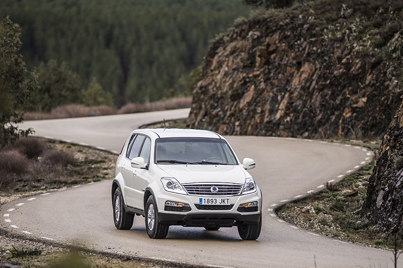 Foto Exteriores (3) Ssangyong Rexton-w-d22t Suv 2016