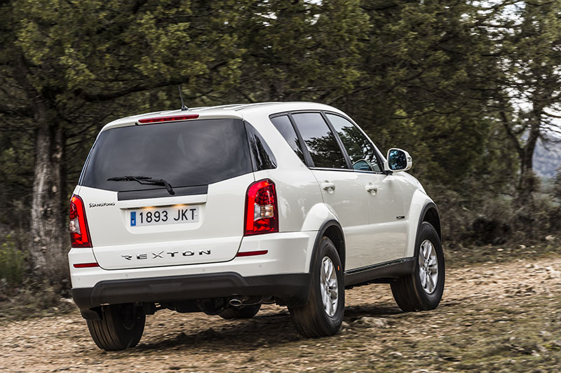 Foto Exteriores Ssangyong Rexton W D22t Suv 2016