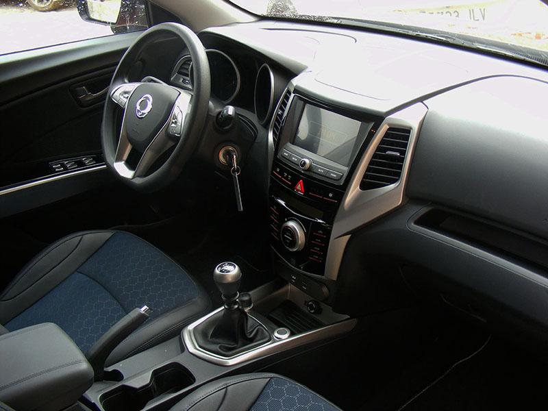 Interior Ssangyong Tívoli 4WD