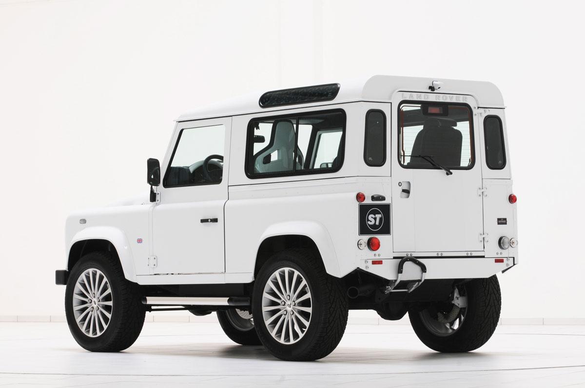 Fondo Pantalla Startech Land-rover-defender-yatching-design Suv Todocamino 2011 Trasera