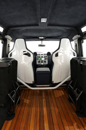 Foto Interiores Startech Land-rover-defender-yatching-design Suv Todocamino 2011