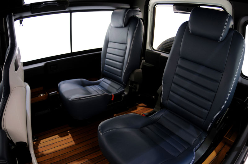 Foto Interiores Startech Land Rover Defender Yatching Design Suv Todocamino 2011