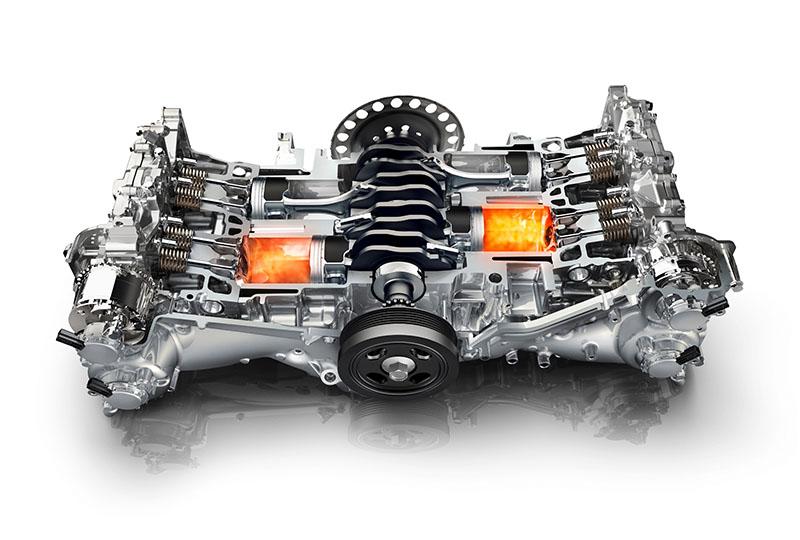Foto Tecnica Subaru 50 Anos Motor Boxer