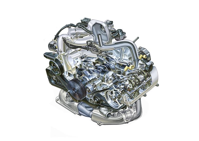 Foto M16002430a Subaru Motores Gasolina