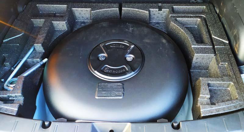 Subaru XV 2018, foto depósito GLP