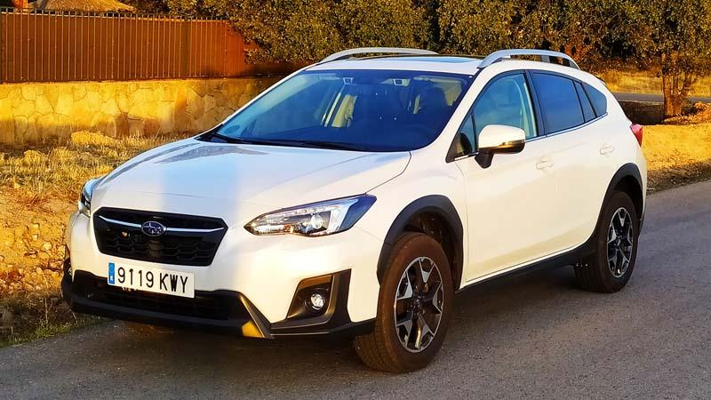 Subaru XV 2018, foto delantera