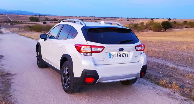 Subaru XV 2018, foto trasera