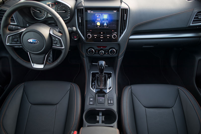 Subaru XV 2018, foto salpicadero