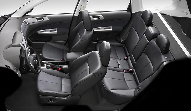 Foto Interiores Subaru Forester Suv Todocamino 1999