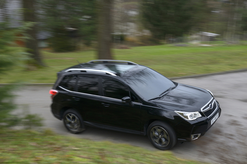 Subaru Forester prueba off-road