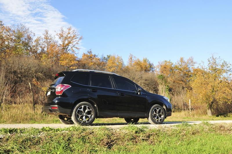 Foto Lateral Subaru Forester Suv Todocamino 2013