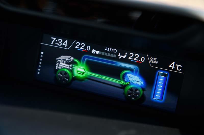 Subaru Forester EcoHYBRID 2020, foto pantalla superior