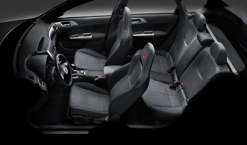 Foto Interiores Subaru Impreza Dos Volumenes 2008