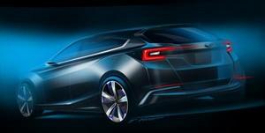 Foto Trasera Subaru Impreza-5door-concept Concept 2015