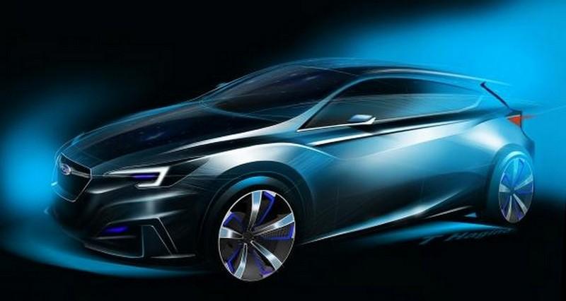 Foto Delantera Subaru Impreza-5door-concept Concept 2015