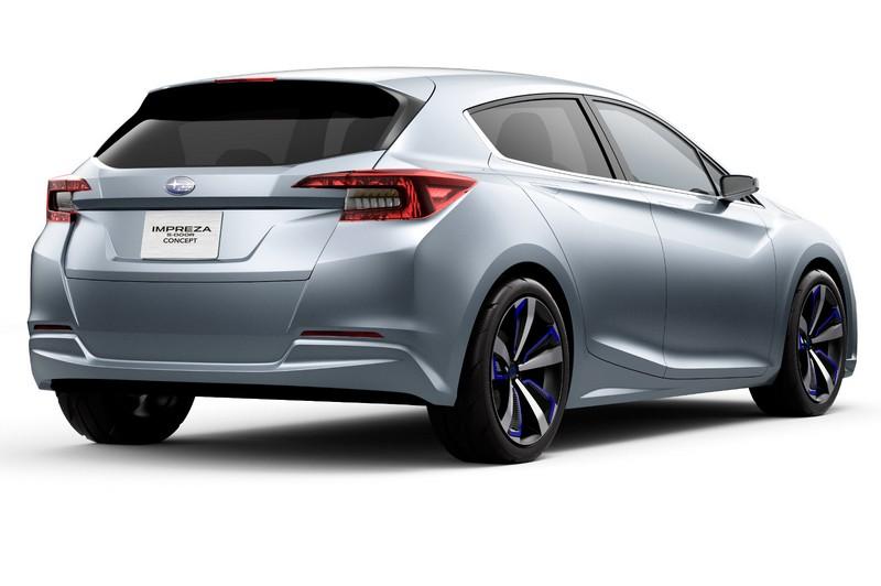 Foto Exteriores Subaru Impreza 5door Concept Concept 2015