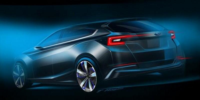 Foto Trasera Subaru Impreza 5door Concept Concept 2015