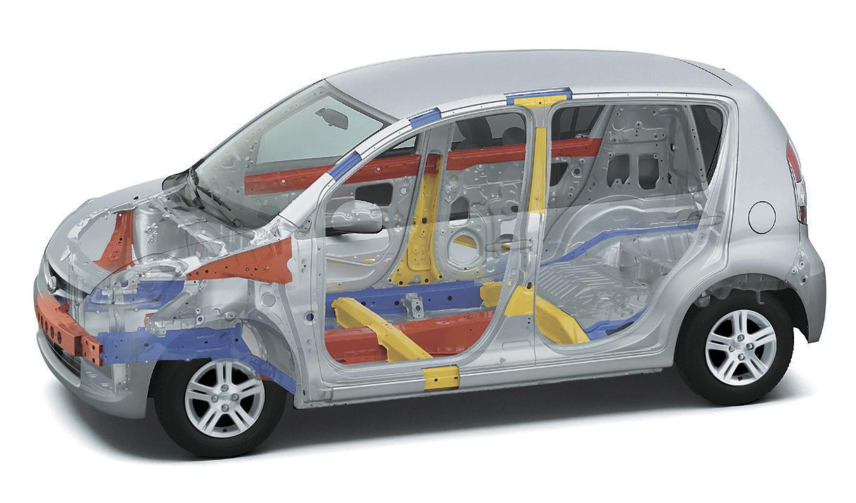 Foto Tecnicas Subaru Justy Dos Volumenes 2006