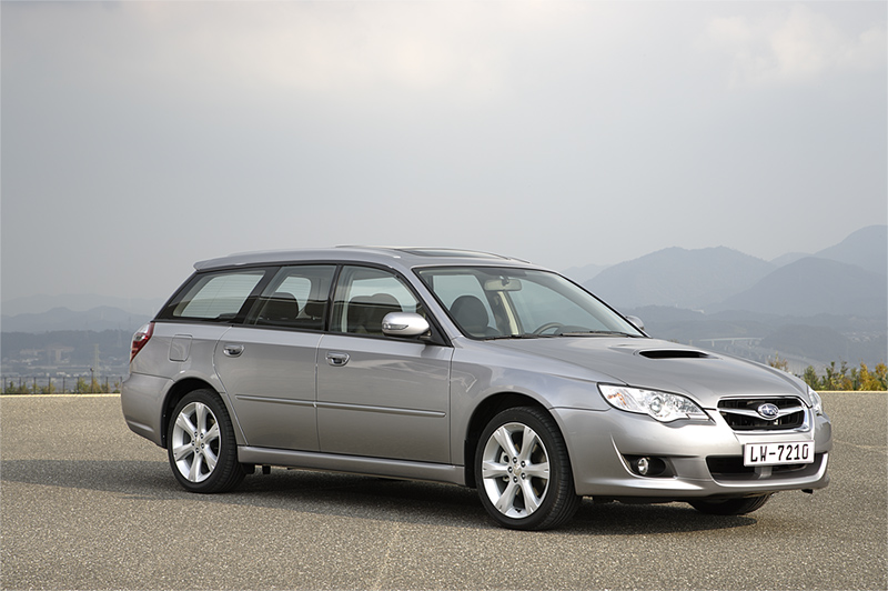 Foto Delantero Subaru Legacy Familiar 2008