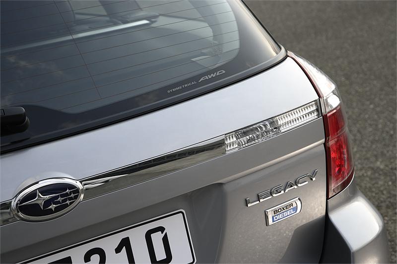Foto Detalles Subaru Legacy Familiar 2008