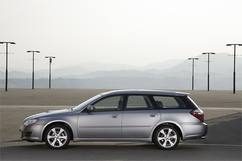 Foto Perfil Subaru Legacy Familiar 2008