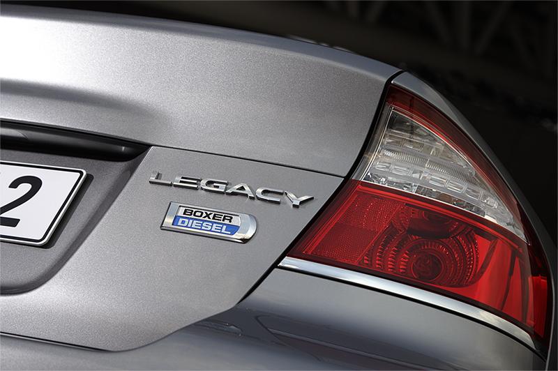 Foto Detalles Subaru Legacy Sedan 2008