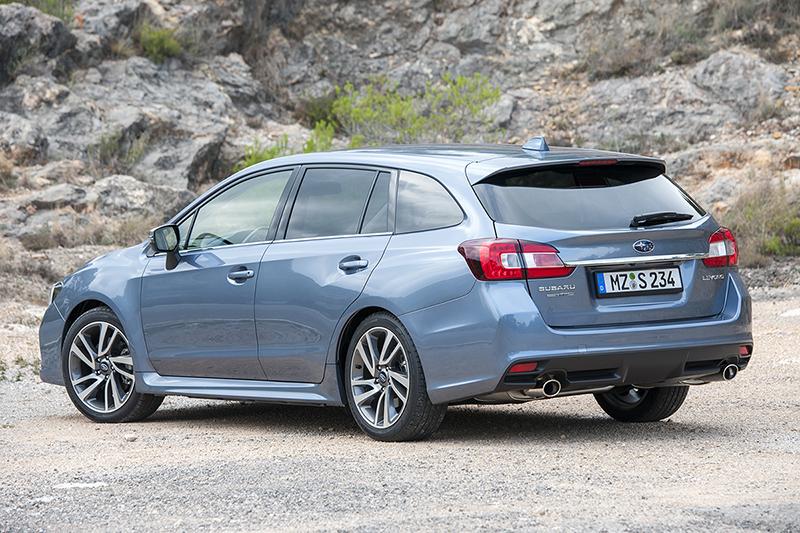 Subaru Levorg parte trasera