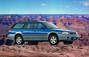 Foto Delantera Subaru Outback Suv Todocamino 1995